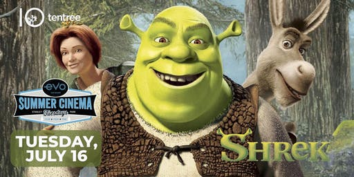 SHREK - Evo Summer Cinema - tentree Canopy reserved seating