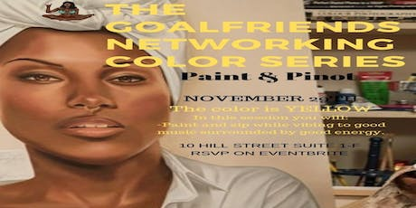 THE GOALFRIENDS NETWORKING COLOR SERIES: PAINT AND PINOT tickets