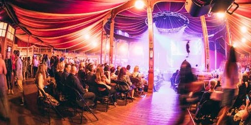 ABC Radio Darwin's Happy Hour in the Victoria Spiegeltent