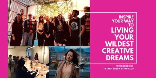 Inspire Your Way to Living Your Wildest Creative Dreams - Adelaide