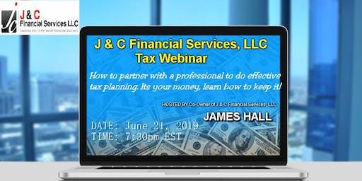 J & C Financial Services, LLC Tax Webinar