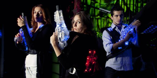An ADF families event: Superheroes vs Villains, Themed Laser Tag (12-16 year olds), Darwin