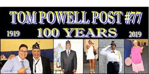 Centennial Anniversary Luncheon for American Legion Tom Powell Post #77