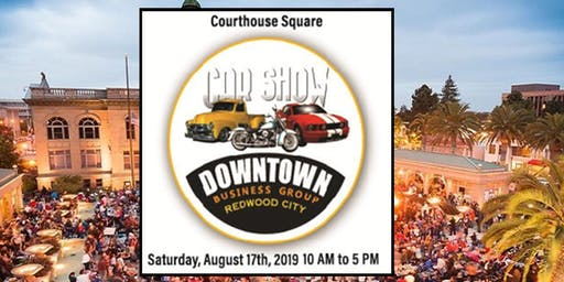 Downtown Redwood City Car Show!! (Car, Truck & Motorcycle Entry)
