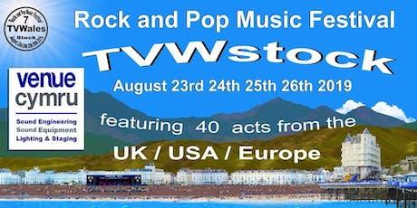 TVWStock 2019 - FREE Music Festival tickets