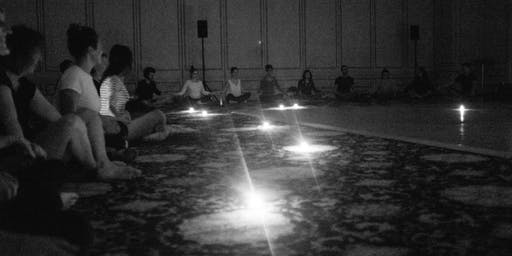First Light at Fuse l dancing in the dark & meditation l late Sunday afternoon