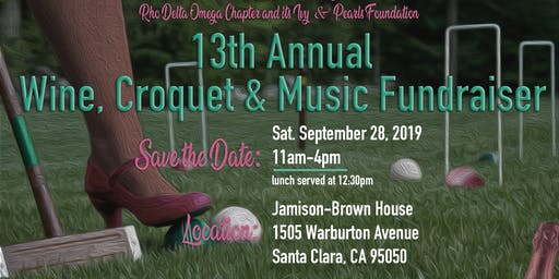 13th Annual Wine, Croquet & Music Fundraiser