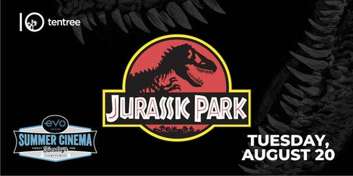 JURASSIC PARK - Evo Summer Cinema - tentree Canopy reserved seating