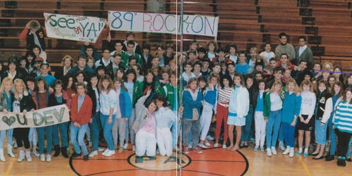 PAHS Class of 1989 30  Year Reunion