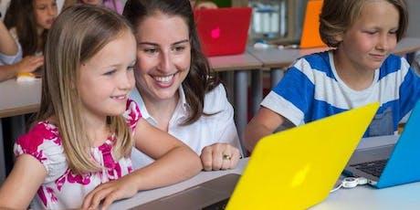 Programmieren mit Kindern - Family Workshop im Pioneers Club (8 - 12 Jahre) Tickets