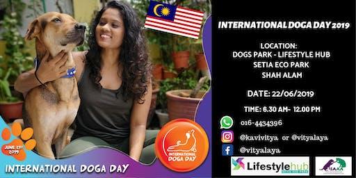 INTERNATIONAL DOGA DAY 2019