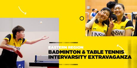Arc Sport | Eastern Region Intervarsity | Badminton & Table Tennis tickets