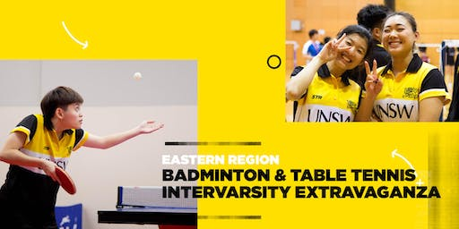 Arc Sport :: Eastern Region Intervarsity :: Badminton & Table Tennis