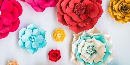 Get Creative: Paper Vase and Flowers