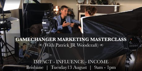 Gamechanger Marketing Masterclass tickets