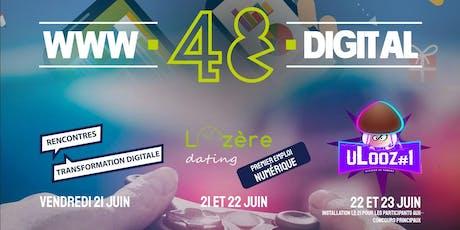 Salon du numérique 48.digital - Gratuit - Ouvert à tous billets