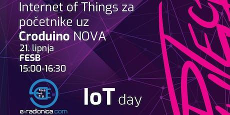 Internet of Things za početnike uz Croduino NOVA tickets