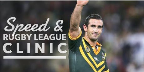 Speed & Rugby League Clinic - Roger Fabri, Gus Gould, Joey Johns tickets