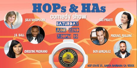HOPs & HAs comedy show tickets