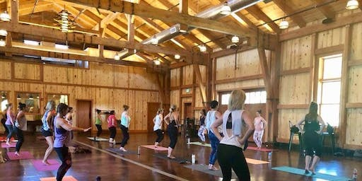 Barre in the Barrel Room