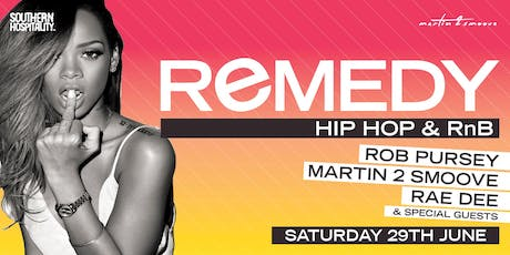 Remedy - Hip Hop + R&B tickets