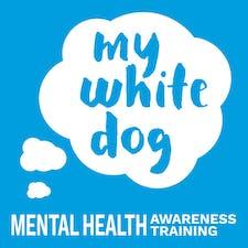 My White Dog  logo