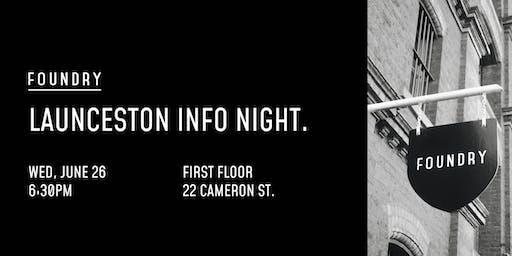 Launceston Info Night | Wednesday, 26 June