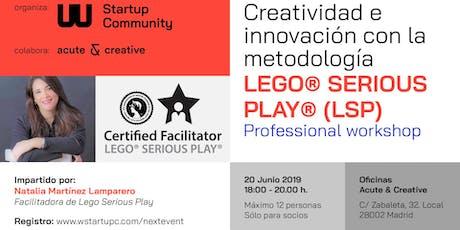 Creatividad e Innovación con la metodología LEGO entradas