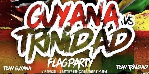 Guyana Vs. Trinidad Flag Party