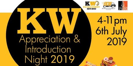 KW APPRECIATION & INTRODUCTION NIGHT 2019 tickets