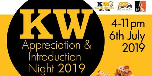 KW APPRECIATION & INTRODUCTION NIGHT 2019