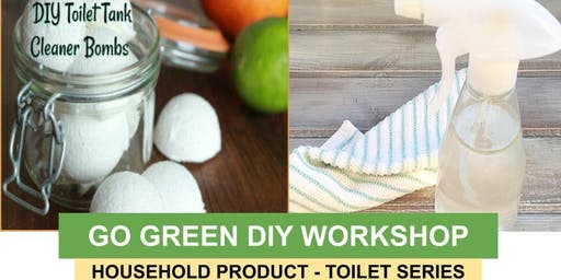 Go Green DIY Household Product - Toilet Series
