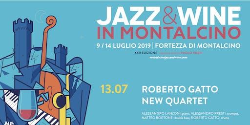 Prenotazione Jazz & Wine in Montalcino 2019 -  Roberto Gatto New Quartet