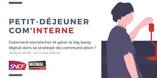 Petit-déjeuner Com'in par la SNCF : la stratégie de communication digitale