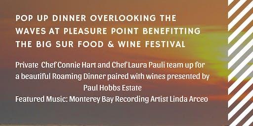 Pop Up Roaming Dinner Featuring Paul Hobbs Estate Winery