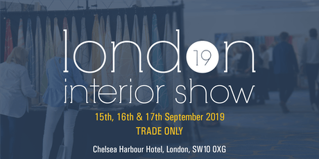 London Interior Show 2019 tickets