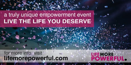 Life More Powerful - Oxfordshire tickets