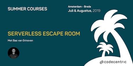 Serverless Escape Room (Amsterdam) tickets