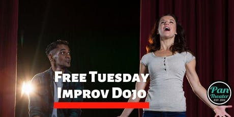 Tuesday Free Improv Dojo in Oakland tickets