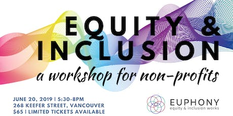 Equity & Inclusion for Non-Profits tickets