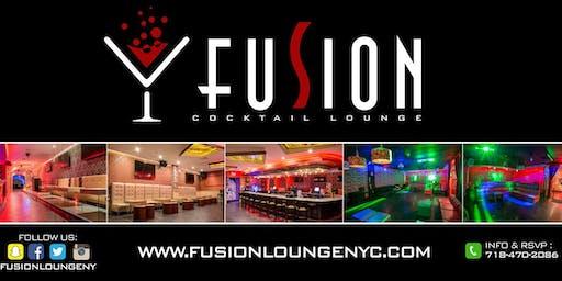 Bottle Service Deposit at Fusion Lounge