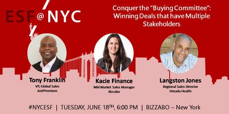 "Conquer the ""Buying Committee"": Winning Deals With Multiple Stakeholders tickets"