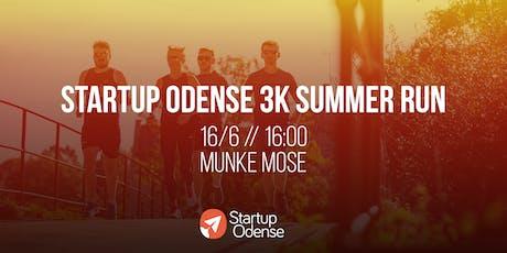 Startup Odense 3k Summer Run tickets