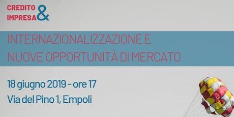 Incontro Banca MPS su Internazionalizzazione e nuove opportunità di mercato biglietti