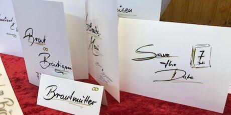 Schön Schreiben - Kalligrafie & Handlettering Tickets