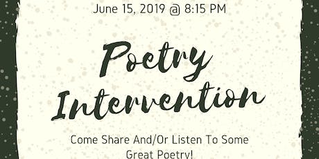 Poetry Intervention @ The Mini Hip-Hop Museum tickets