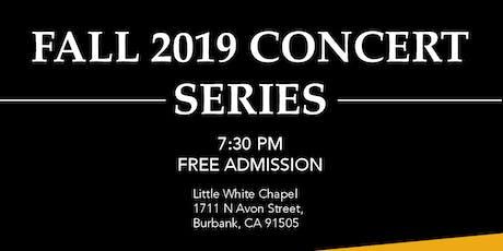 Burbank Chamber Music Society Fall 2019 Concert Series tickets