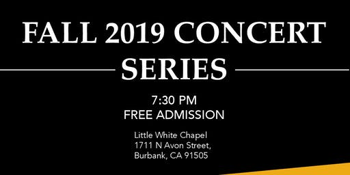 Burbank Chamber Music Society Fall 2019 Concert Series