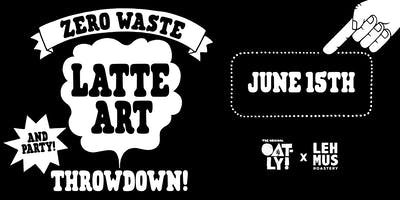 Oatly´s Zero Waste Latte Art Throwdown X Satamatie 6
