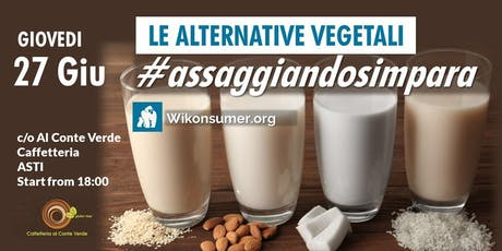 Le Alternative Vegetali #assaggiandosimpara biglietti